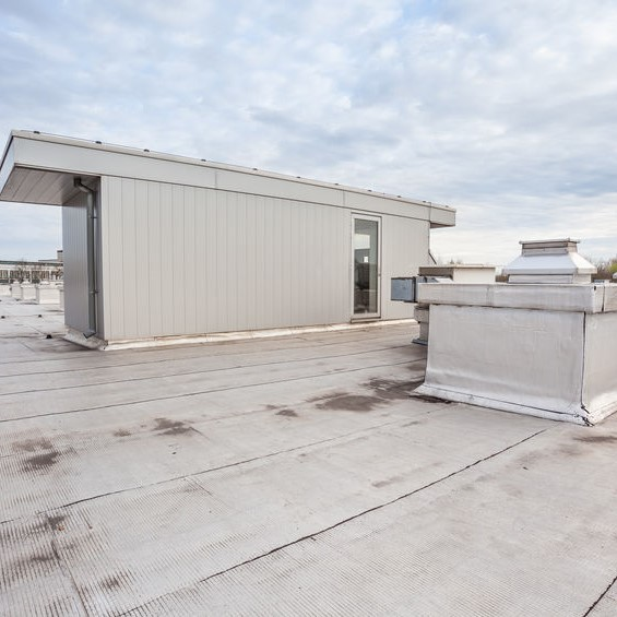 flat roof needing a roof consultant